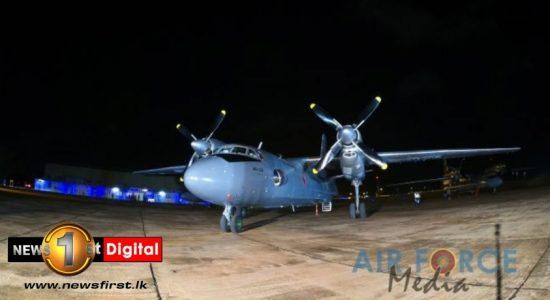 Sri Lanka Air Force AN-32s return home following repairs