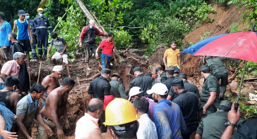 UPDATE: Family of four dead following Saturday (05) morning landslide in Mawanella
