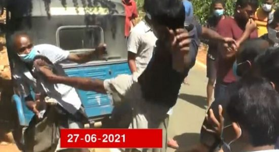 Locals take to streets against politician for assault