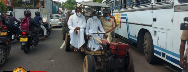 (VIDEO) Sajith tells Govt. to leave for failing to reduce fuel prices