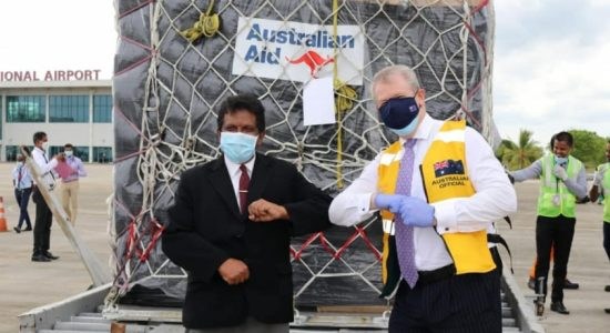 Australia delivers essential medical supplies to Sri Lanka