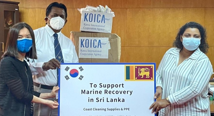 Korea renders support for marine recovery in Sri Lanka