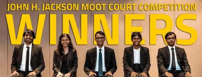 UOC claims first international mooting title for Sri Lanka