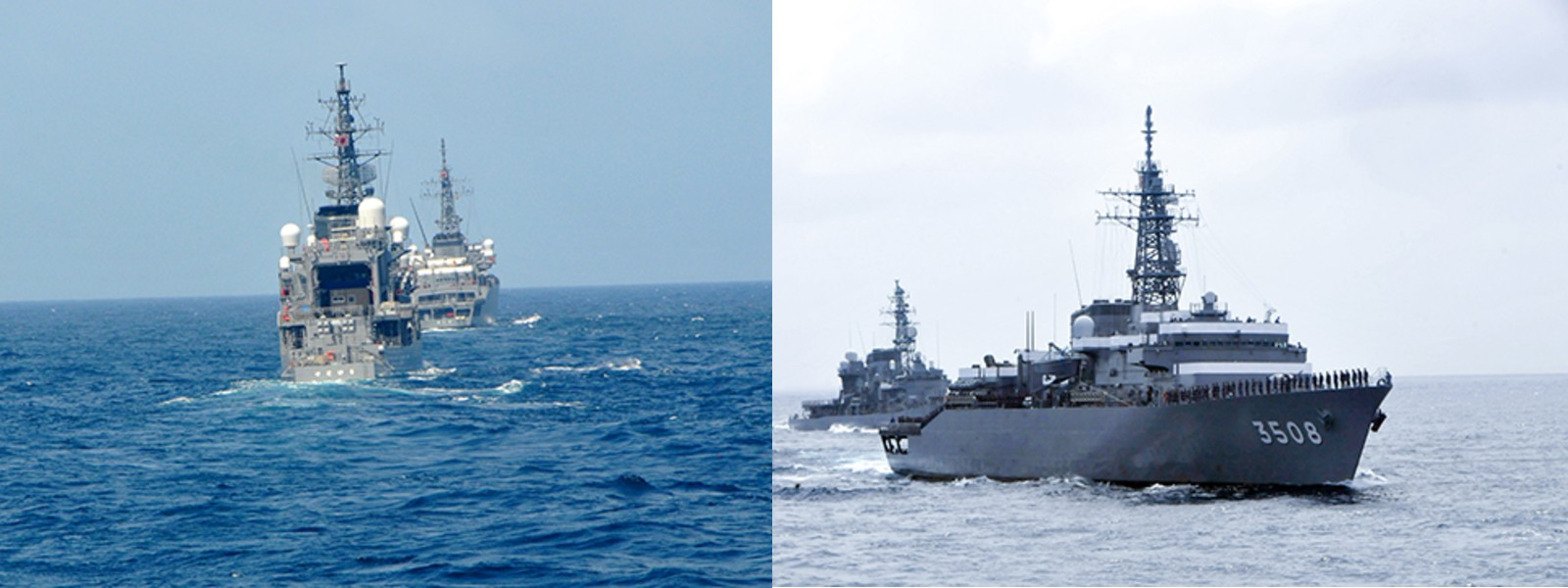 Navy & JMSDF conduct passage exercise off Colombo