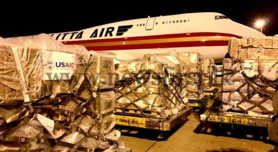 USAID donation of 200 ventilators & other medical equipment reach Sri Lanka