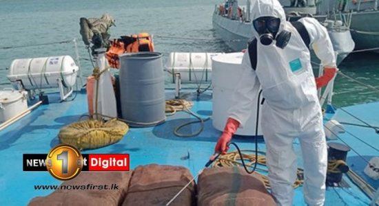 Navy seizes 237kg of Kerala Cannabis worth Rs. 71 million