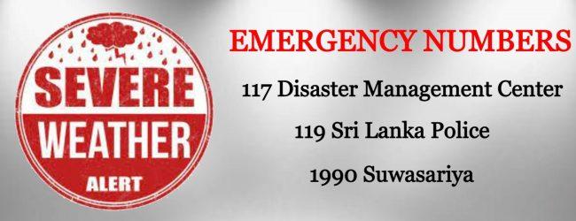 Weather Warnings MUST be taken SERIOUSLY; DG Disaster Management Center