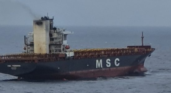 One missing from MSC Messina fire; Indian Coast Guard providing assistance