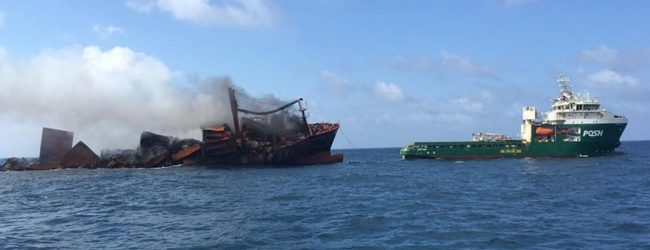 Ocean pH value unchanged following X-PRESS PEARL disaster