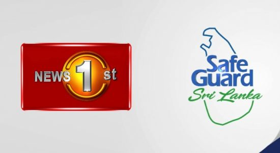 Safe Guard and News 1st – come together to combat COVID-19