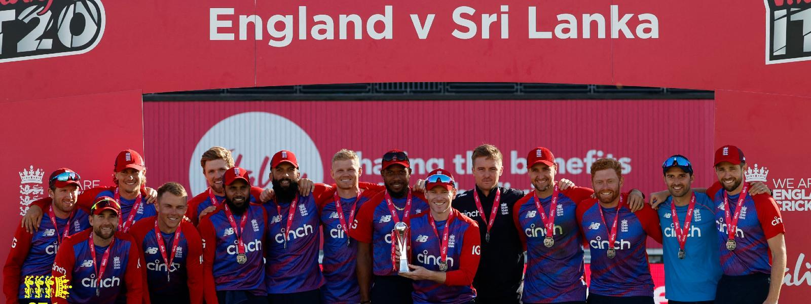 England complete T20 series sweep over Sri Lanka