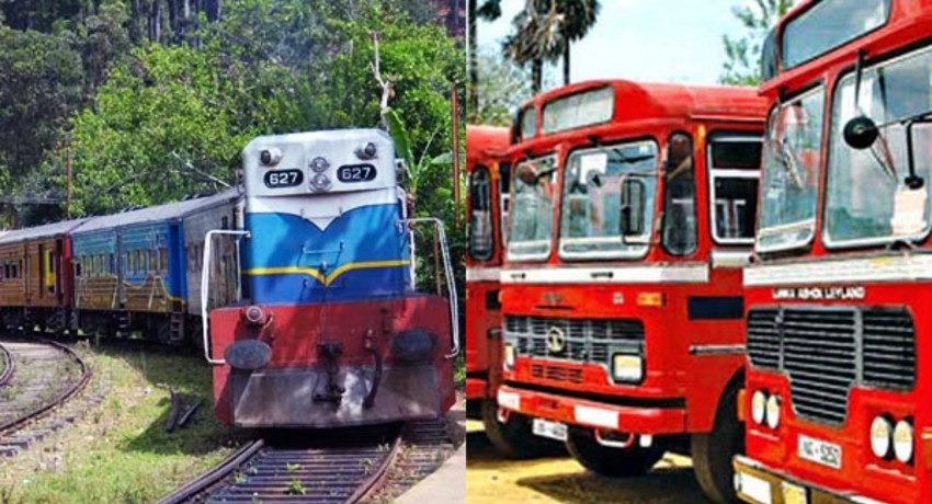Inter-Province Bus & Train services to resume operations