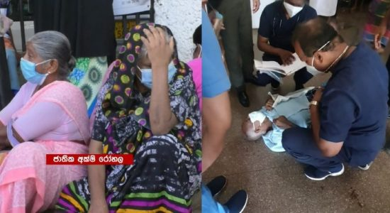 (VIDEO) Patient collapses in Badulla Hospital as nurses report sick