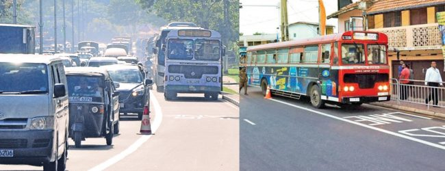 Final decision on Public Transport between provinces, on Wednesday (07)