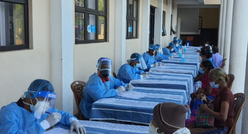 Army-manned Community Vaccination Centres up and running