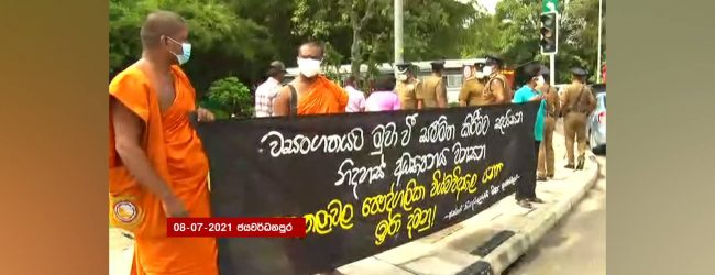31 arrested for protesting near Parliament: Police