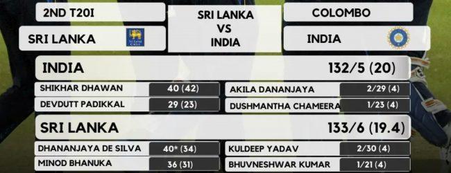 Sri Lanka win low scoring thriller against Covid-19 hit IND