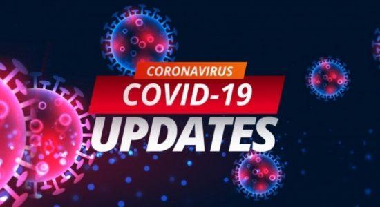 District breakdown of Thursday's (01) COVID cases