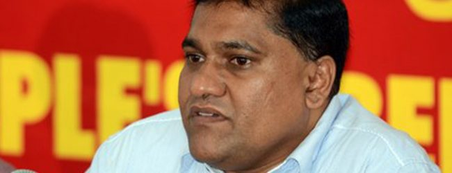 Constitution was amended on behalf of one person – Vijitha
