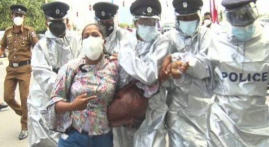 Police intervene to disperse protest against KDU bill