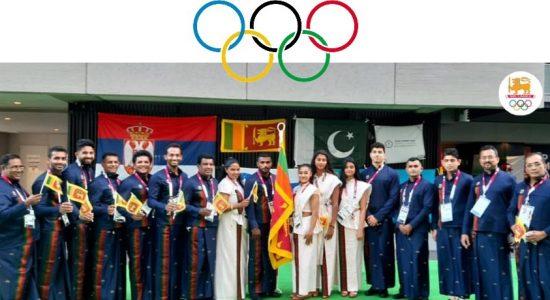 Tokyo Olympics : Team Sri Lanka