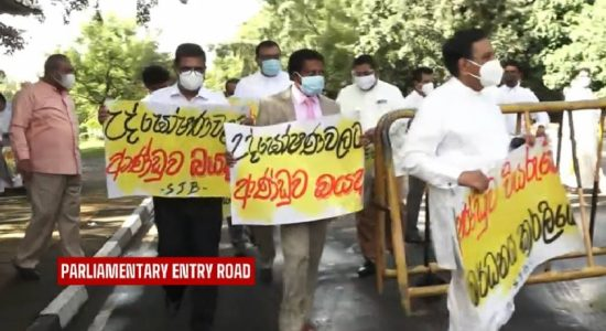 SJB protests against violation of Freedom of Expression