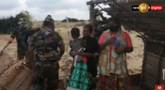 Eviction leads to altercation between SLAF personnel and settlers in Kalpitiya