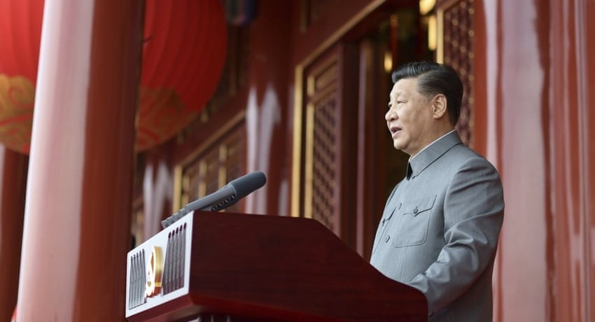 China will NOT allow bullying from foreign forces  -Xi Jinping