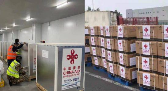 Another 1.6 million Sinopharm jabs to Sri Lanka today (27)