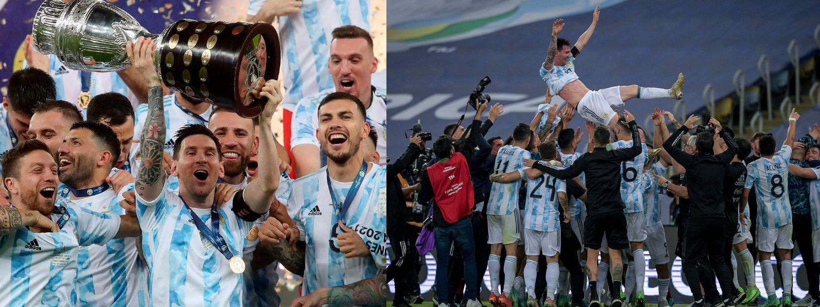 Messi claims first international trophy as Argentina wins Copa America final
