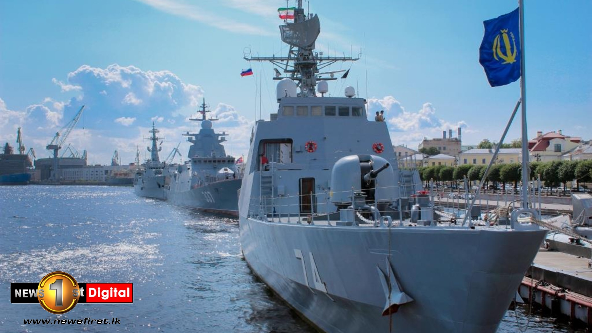 Navy Commander in Russia for Navy Day