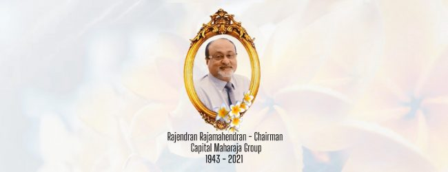 Tributes continue to flow in over Mr. Rajamahendran's demise