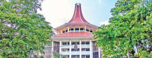 Another SC judges steps away from considering Rishad's FR