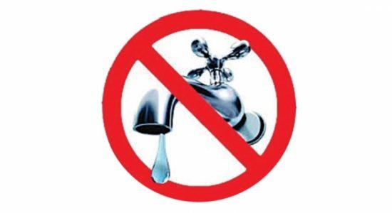 24-hour Water Cut in Wattala on Monday (26): NWSDB