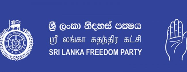 SLFP Central Committee to convene today (08)