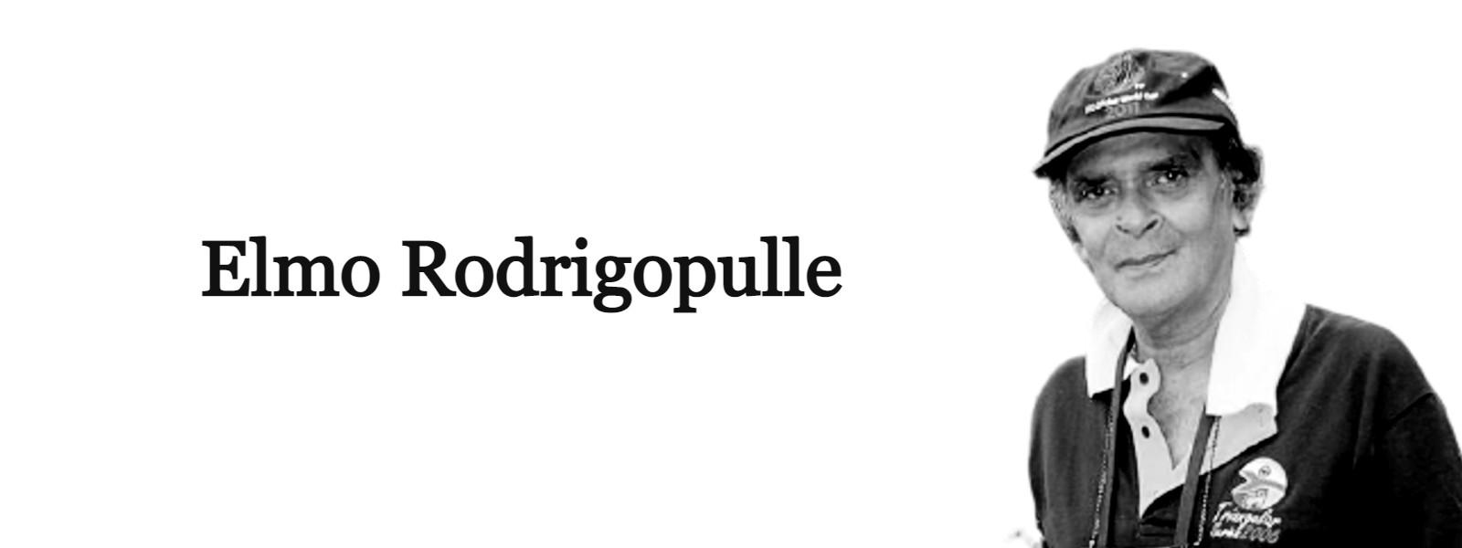 Sports Journalist Elmo Rodrigopulle, no more