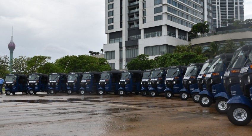 Three-wheelers for police stations to fight crime