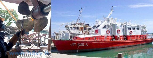 "Passenger Vessel ""Vadatharaki"" resumes service"