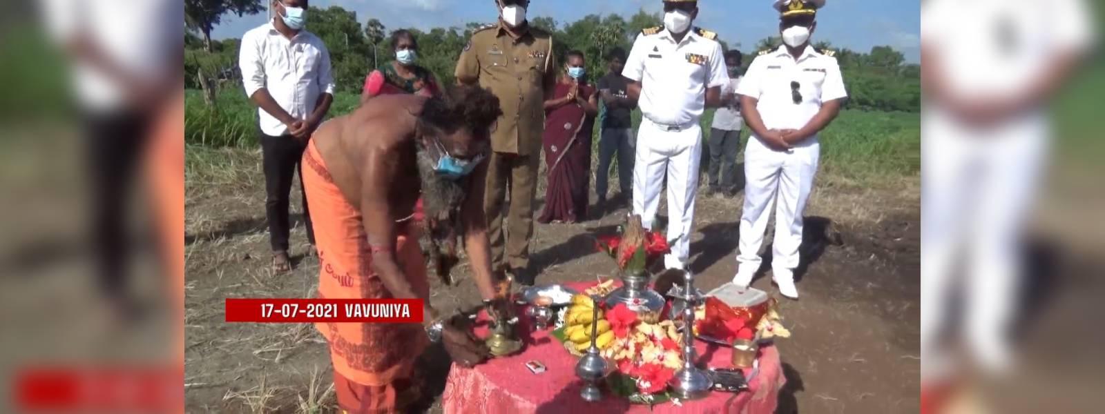 Gammadda steps in to address longstanding need of villagers in Vavuniya