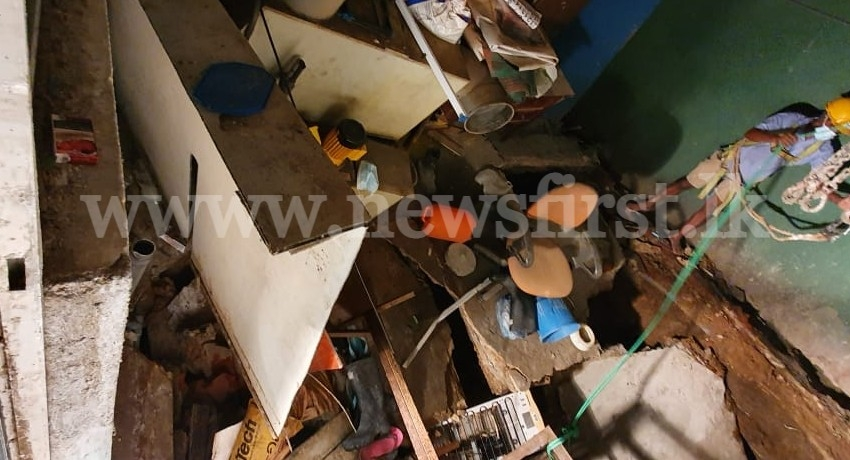 Cave-in at the Gem and Jewellery Authority ; All operations suspended