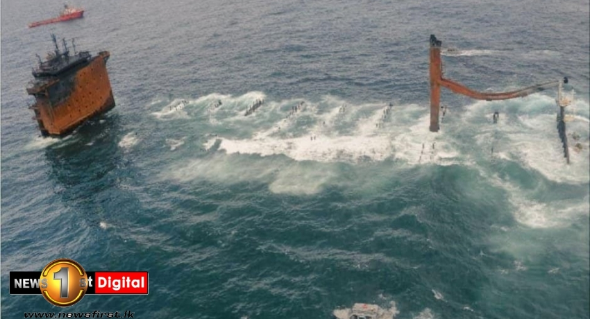 Sri Lanka wants X-Press Pearl wreck removed from its waters