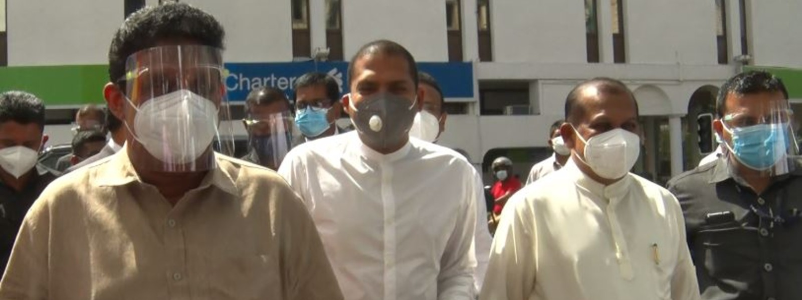Harin Fernando at CID to record statement on comments regarding April Attacks