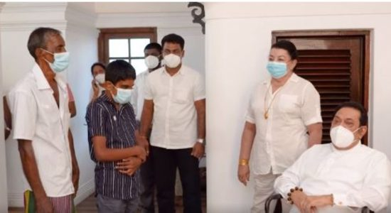 (VIDEO) Boy who appealed to restore his sight meets Prime Minister