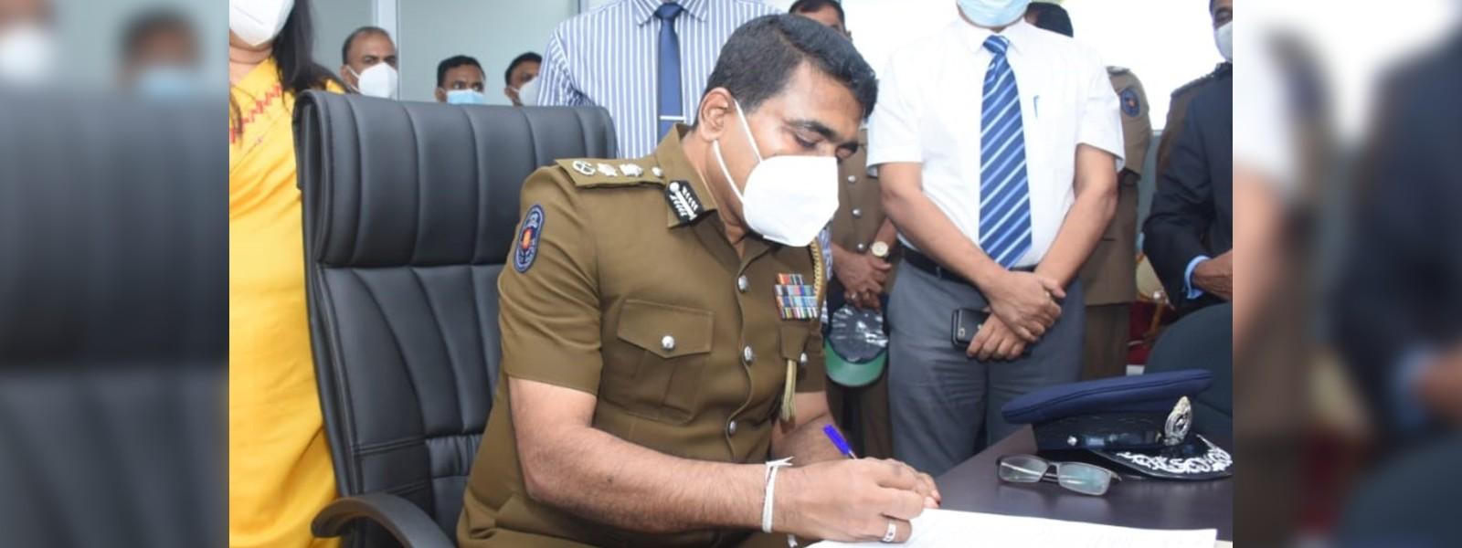 Ajith Rohana assumes duties as SDIG of Police Motor Traffic & Crimes Unit