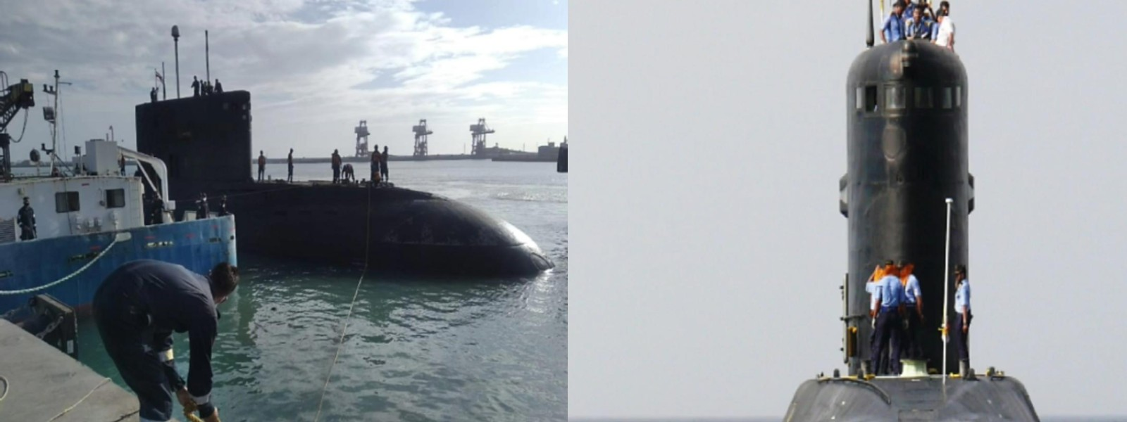 Indian Navy submarine docks in TN as Chinese presence grows in the region