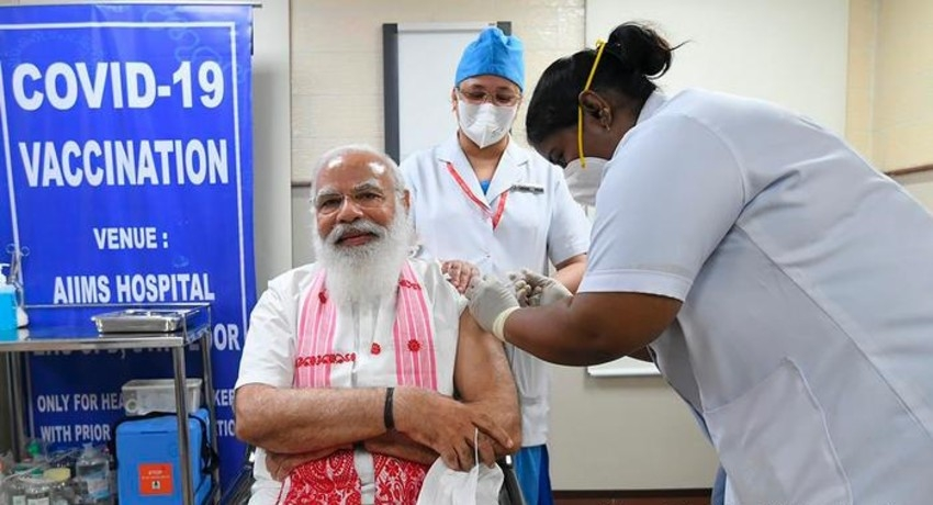 India administers record 10 million vaccine doses in a day