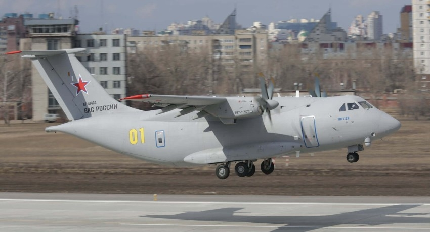 Prototype military transport aircraft crashes in Russia