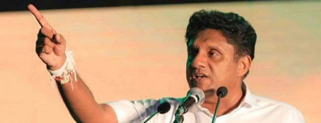 Sajith questions govt.'s measures to combat COVID-19