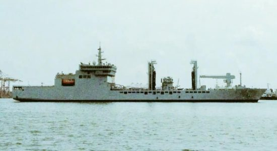 INS Shakti reaches Colombo with 100 tonnes of Oxygen