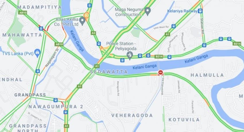Special Traffic Plan surrounding new Kelani Bridge, during the weekend